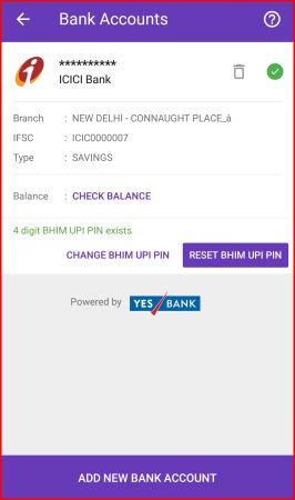add bank account in phonepe app