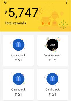 Google pay app payment proof, earn money apps for android in India