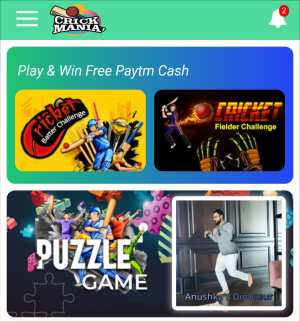 Play games earn money from Crickmania