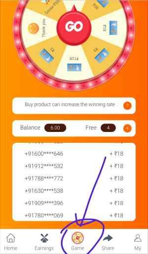 New Money Earning App in India