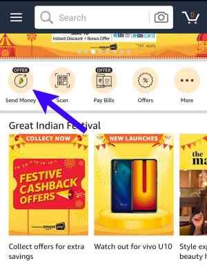 Amazon Pay Send Money