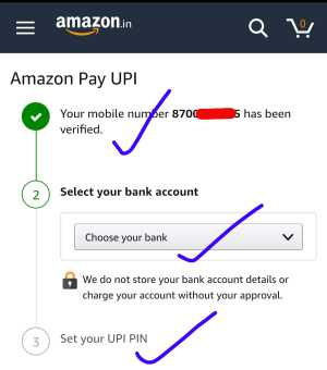Amazon Pay UPI Send Money
