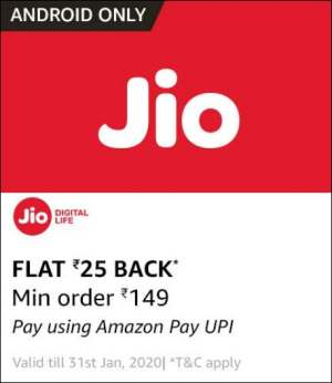 Amazon Jio Recharge offer 1