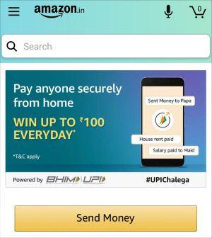 Amazon Pay Send money Offer