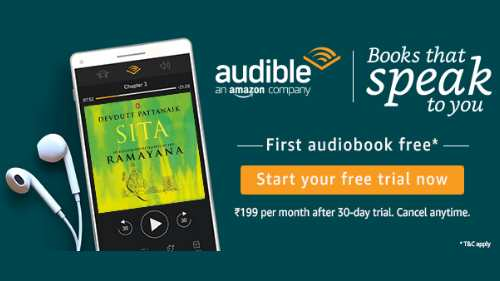 Get Free Audio Book From Amazon