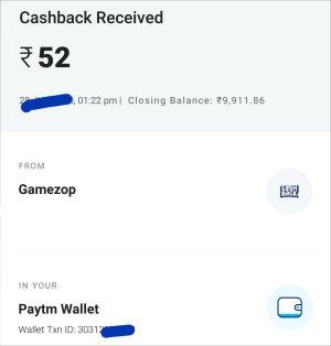 Gamezop payment proof 3