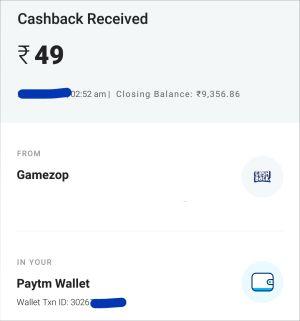 Gamezop Payment Proof 1