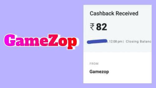 GameZop App Website Play Game Earn Paytm Cash