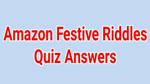 Amazon Festive Riddles Quiz Answers: Win OnePlus 8T