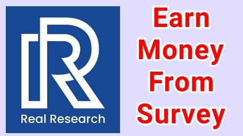 Real Research Survey App Referral Code