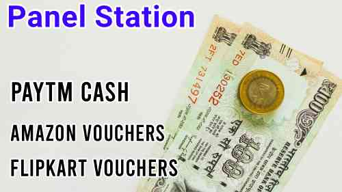 Panel Station Survey – ₹120 on signup, Earn ₹1000/Month Free