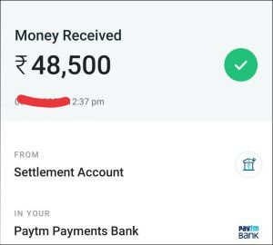 mantrimalls app download - Rs.48,500 Payment Proof